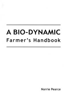 Biodynamic Farmer's Handbook by Norrie Pearce